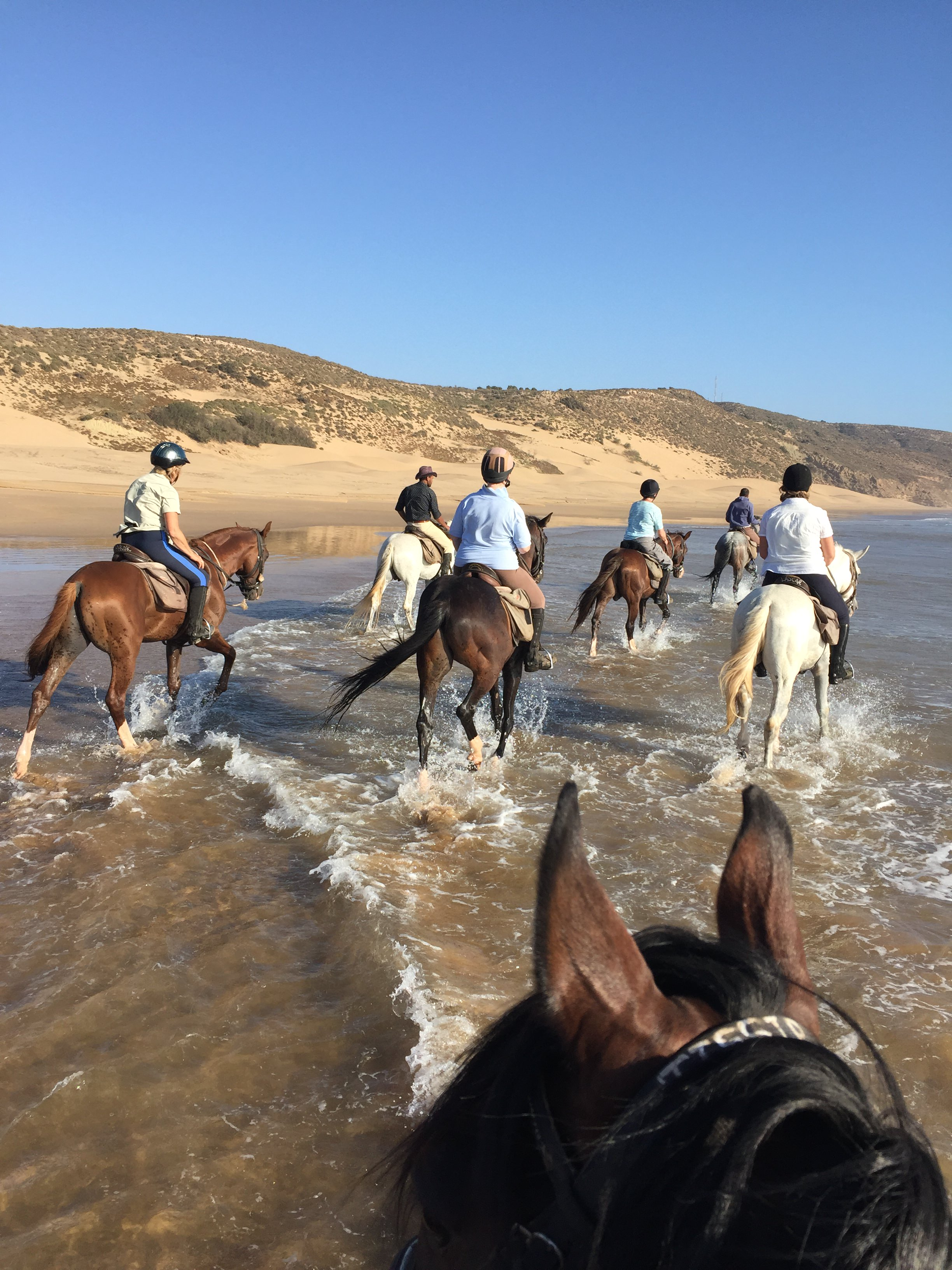 beach riding holidays in morocco