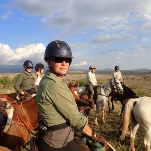 Tanzania riding group