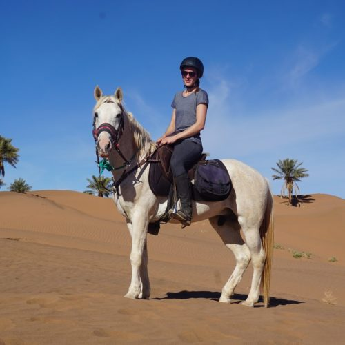 Riding in Morocco