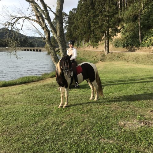 Azores, Green Island Trail, Sete Cidades, horse riding