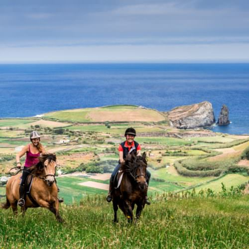 Riding in the Azores