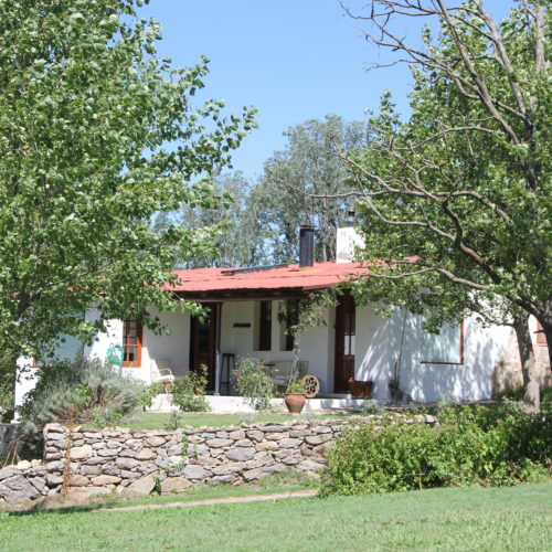 Self-contained cottage at Estancia Los Potreros, Argentina. In The Saddle Riding Holidays
