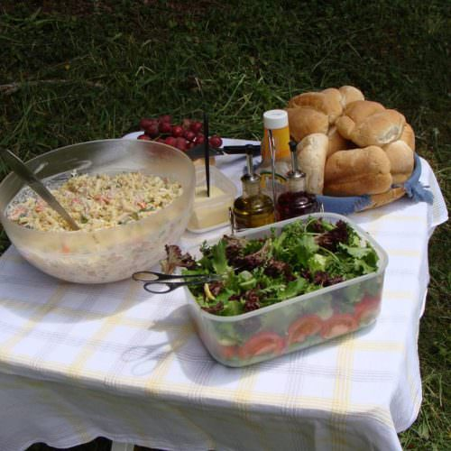 Riding Holidays on the Azores. Picnic lunch