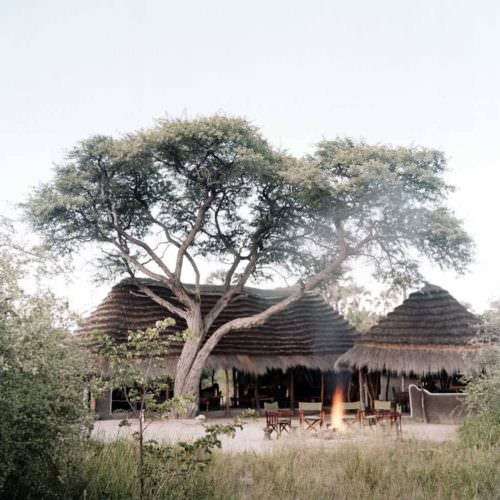 The Kalahari Riding Safari takes you into the Makgadikgadi salt pans of Botswana. Camp fire. Lodge.