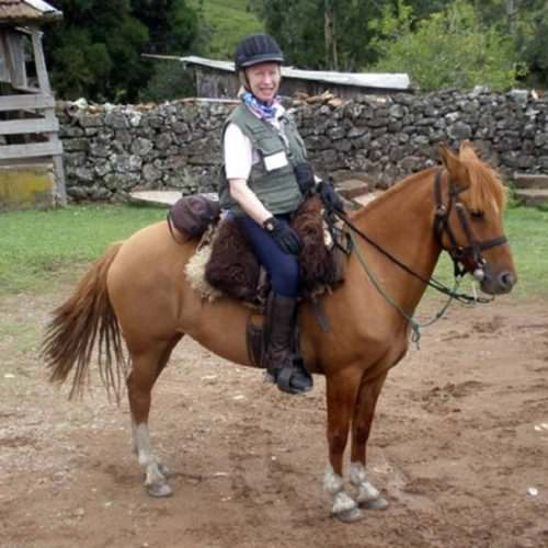 Riding Holidays in Brazil. Trail riding vacation. Horse and rider.