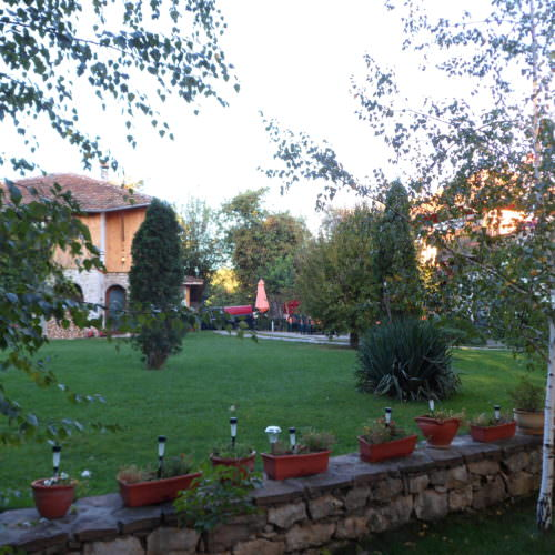 In The Saddle trail riding holidays in Bulgaria. Country House and Garden