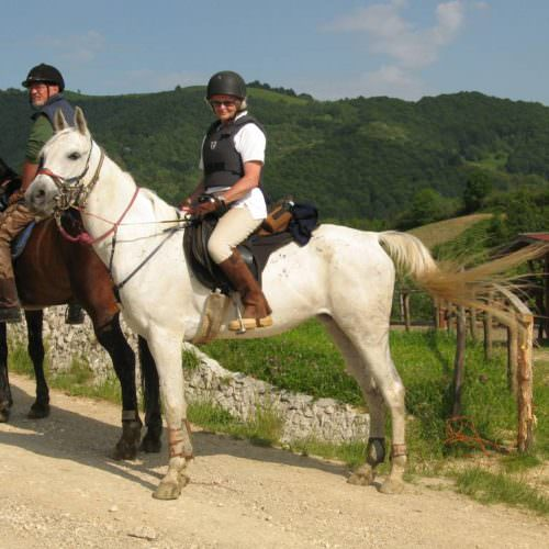 Riding holidays in Transylvania with In The Saddle.