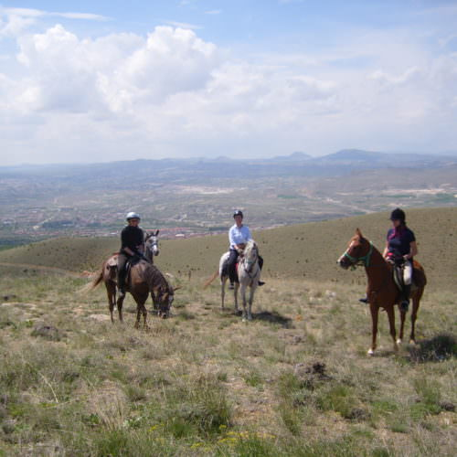 Camping and hotel based horse riding holidays in Turkey.