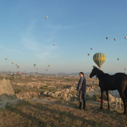 Camping and hotel based horse riding holidays in Turkey. Hot air balloons. Fairy Chimneys
