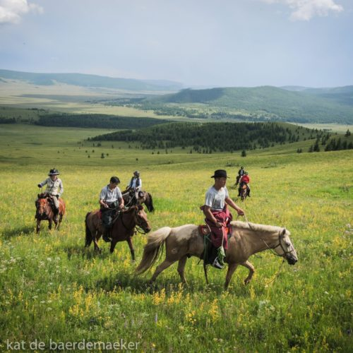 Mongolia riding steppes