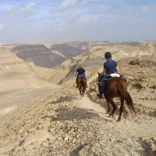 Israel desert riding