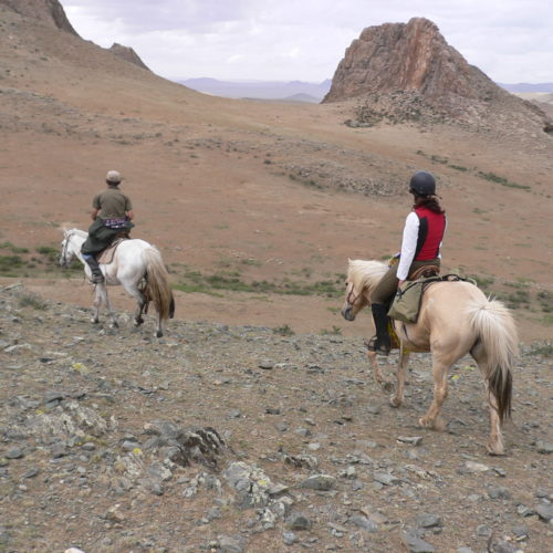 Mongolia steppes riding