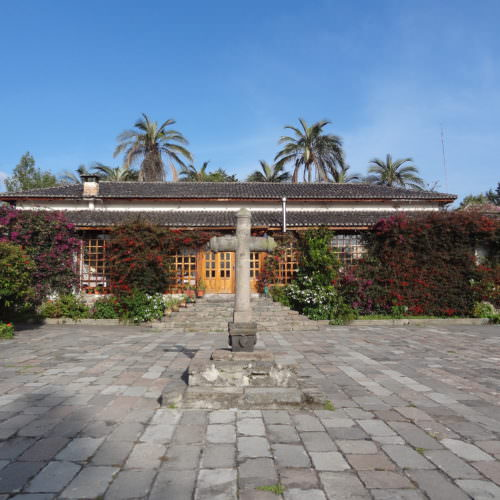 Restored hacienda accommoation