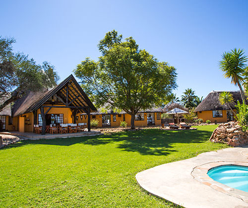 Family friendly lodge in Namibia