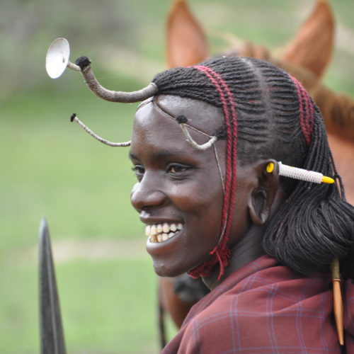 Serengeti Maasai warrior