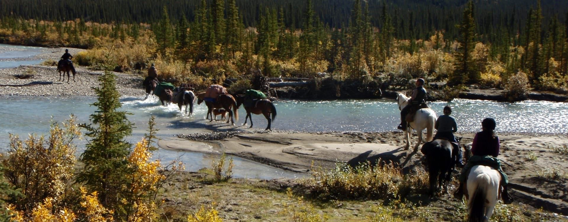 Riding through the Shine Valley - Yukon