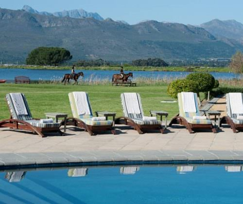 relaxing at Cape Winelands