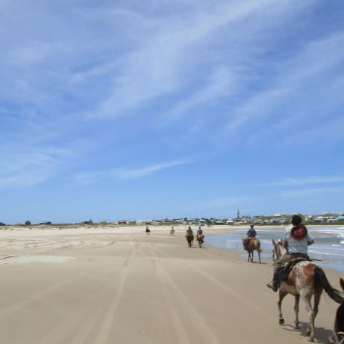 Beach riding holidays in Uruguay with In The Saddle