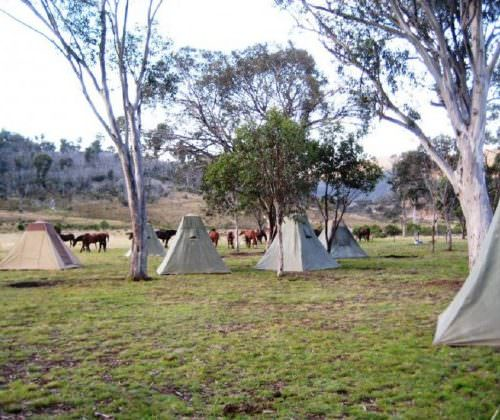 Camp whilst on the trail