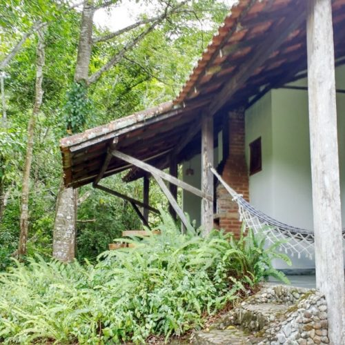 Trail riding holidays in Brazil. Horses in the rainforest. Guest house.