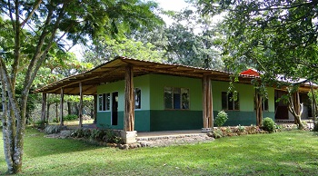 Wilderness ride in Costa Rica. Riding Holidays with In The Saddle. Guest house.