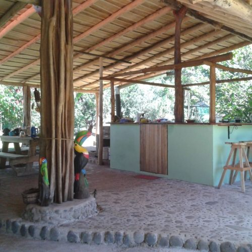 Wilderness ride in Costa Rica. Riding Holidays with In The Saddle. Lodge accommodation.