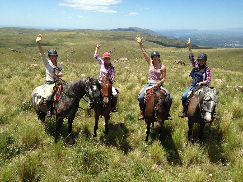 riding holidays in Argentina, Personal Peace at Estancia Los Potreros, In The Saddle, In The Saddle