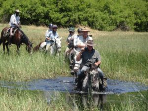 Okavango Mobile Safari, Back to Bush Basics, In The Saddle, In The Saddle