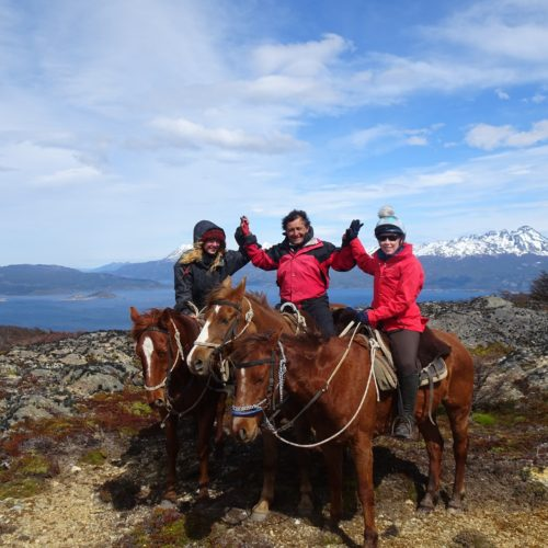 Riding in Ushuaia